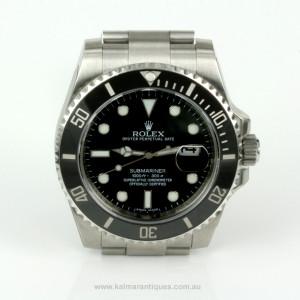 2011 ceramic bezel Rolex Submariner 116610LN