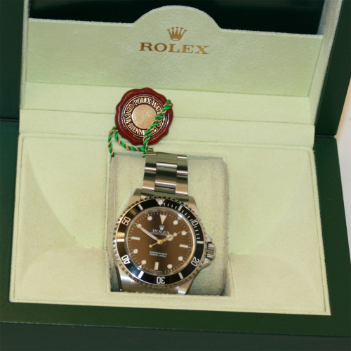 Rolex Submariner with black dial