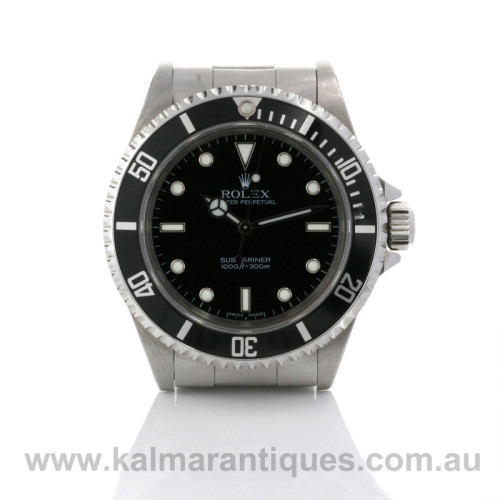 Rolex Submariner no date reference 14060