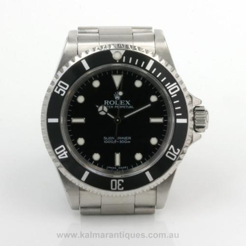2007 Rolex Submariner 14060