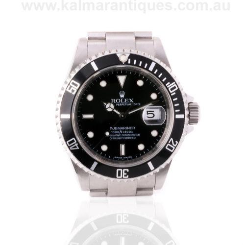 2007 Rolex Submariner 16610