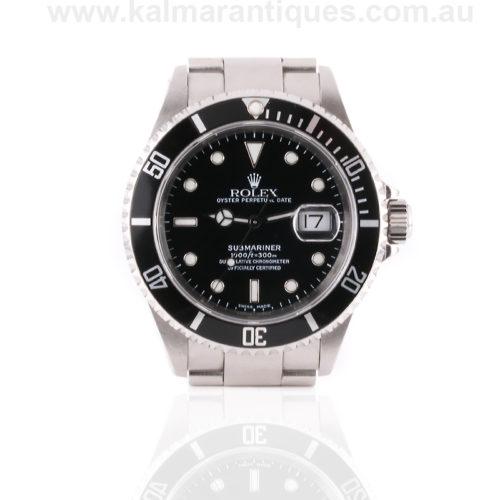 2002 Rolex Submariner model 16610