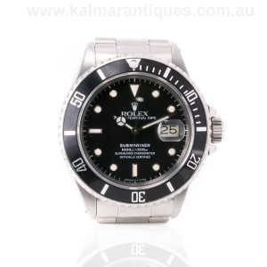 Rolex Submariner reference 16800 transitional model