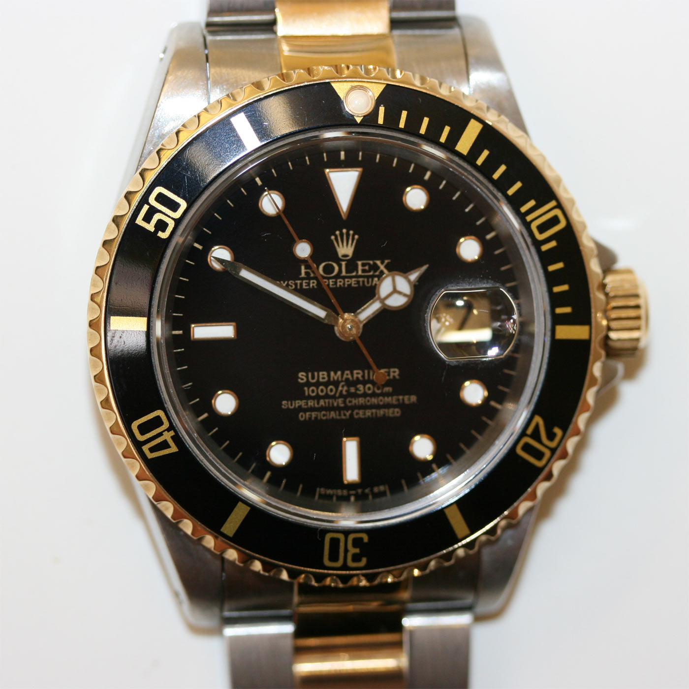 Buy Rolex Submariner steel & gold model. Sold Items, Sold ...