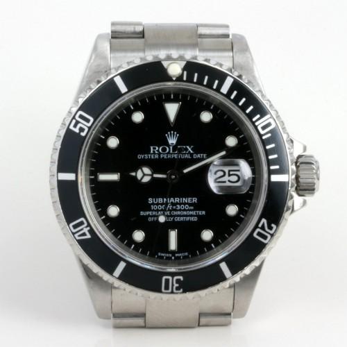 2003 gents Rolex Submariner model 16610