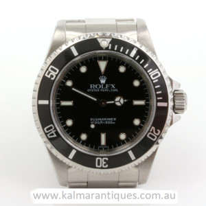1998 Rolex Submariner no date model 14060