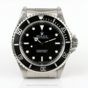 Rolex Submariner no date model 14060