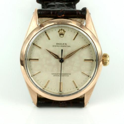 1960's vintage Rolex watch model 1024