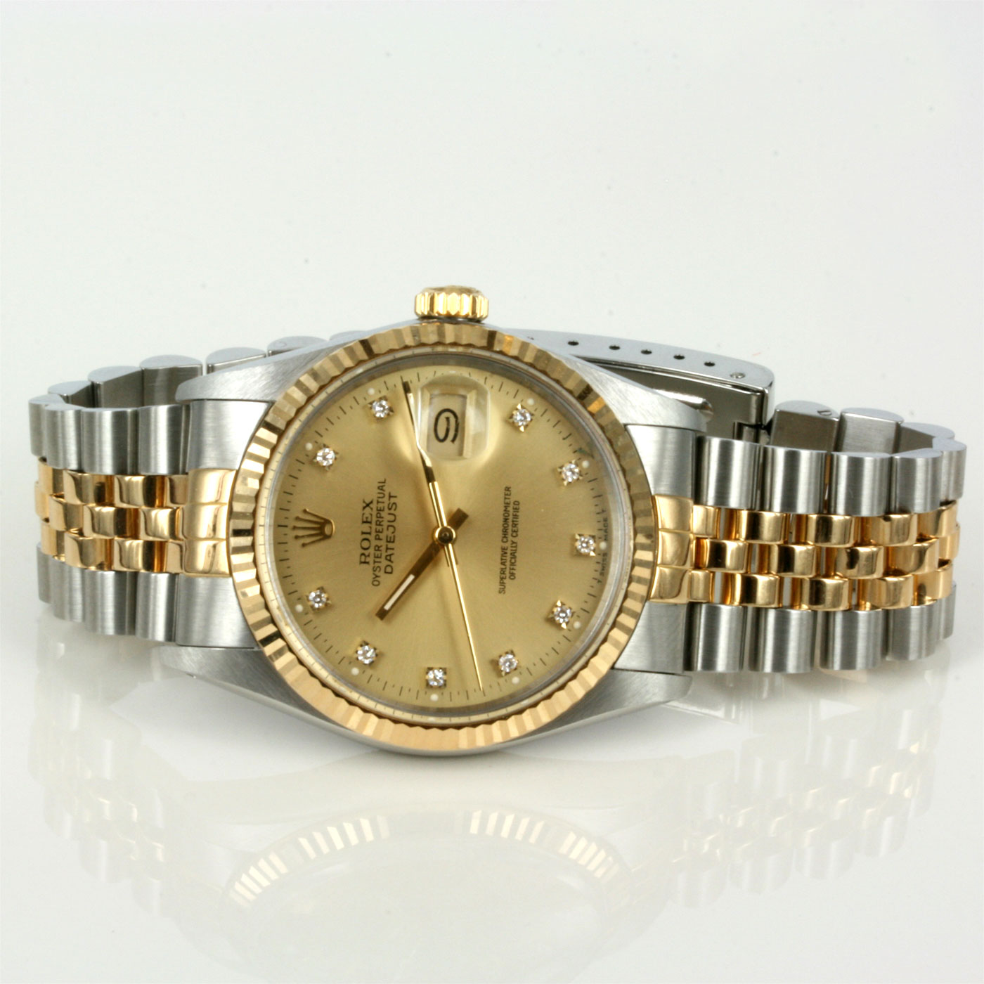 Buy gents diamond dial rolex oyster watch sold items sold rolex watches sydney kalmarantiques for Oyster watches