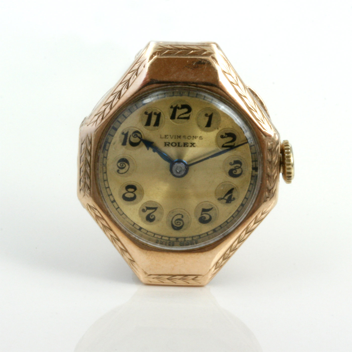 how to fix an overwound wrist watch