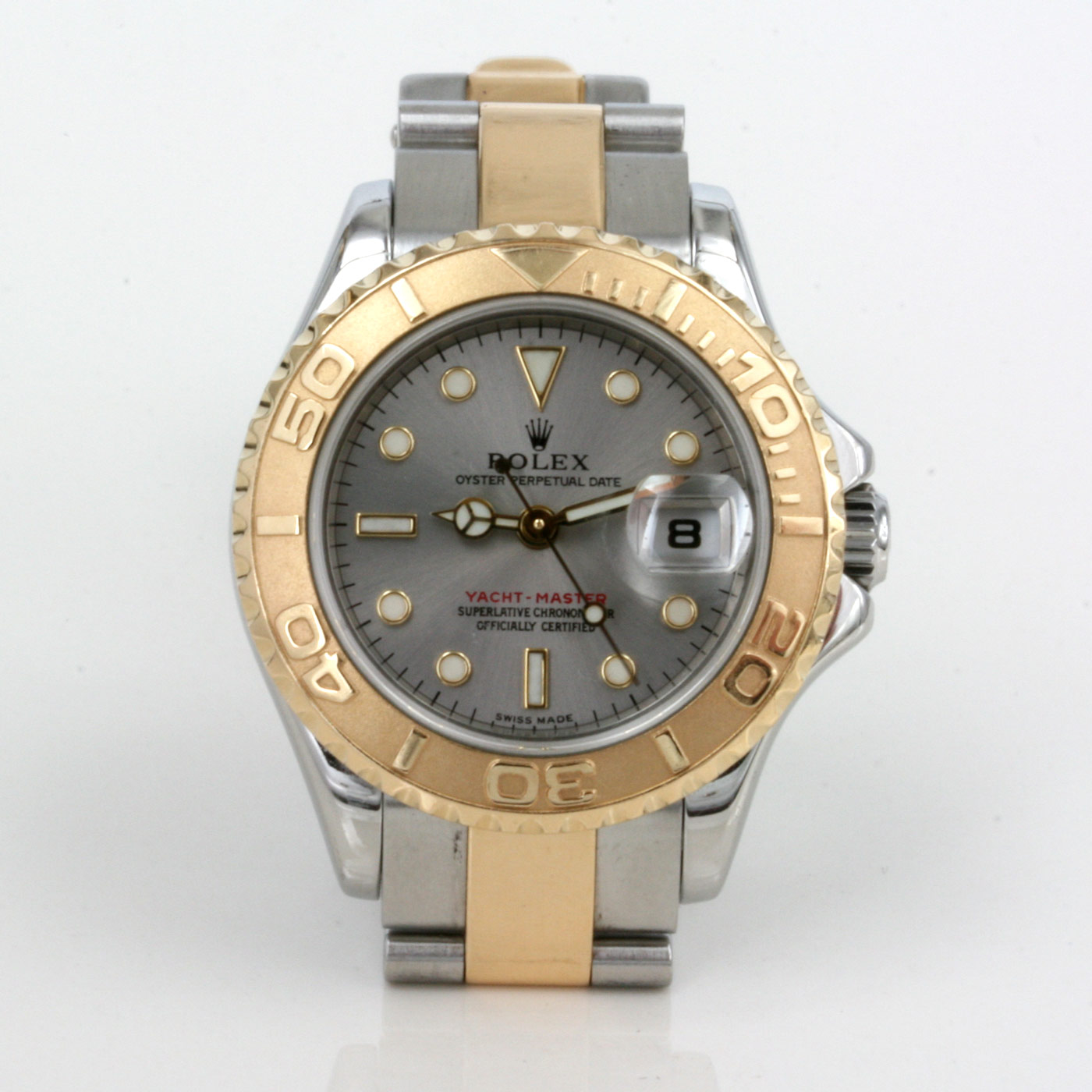 Buy Ladies Rolex Yachtmaster in gold and steel. Sold Items