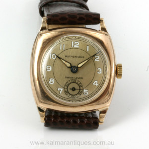 9ct Rotherhams watch