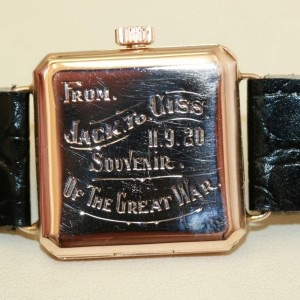 9ct Saunders watch