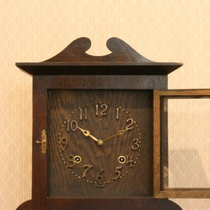 Sessions mission style clock.