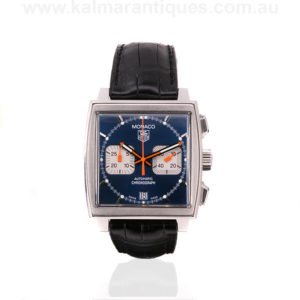 Gents Tag Heuer Monaco Calibre 17 watch reference CW2111/0