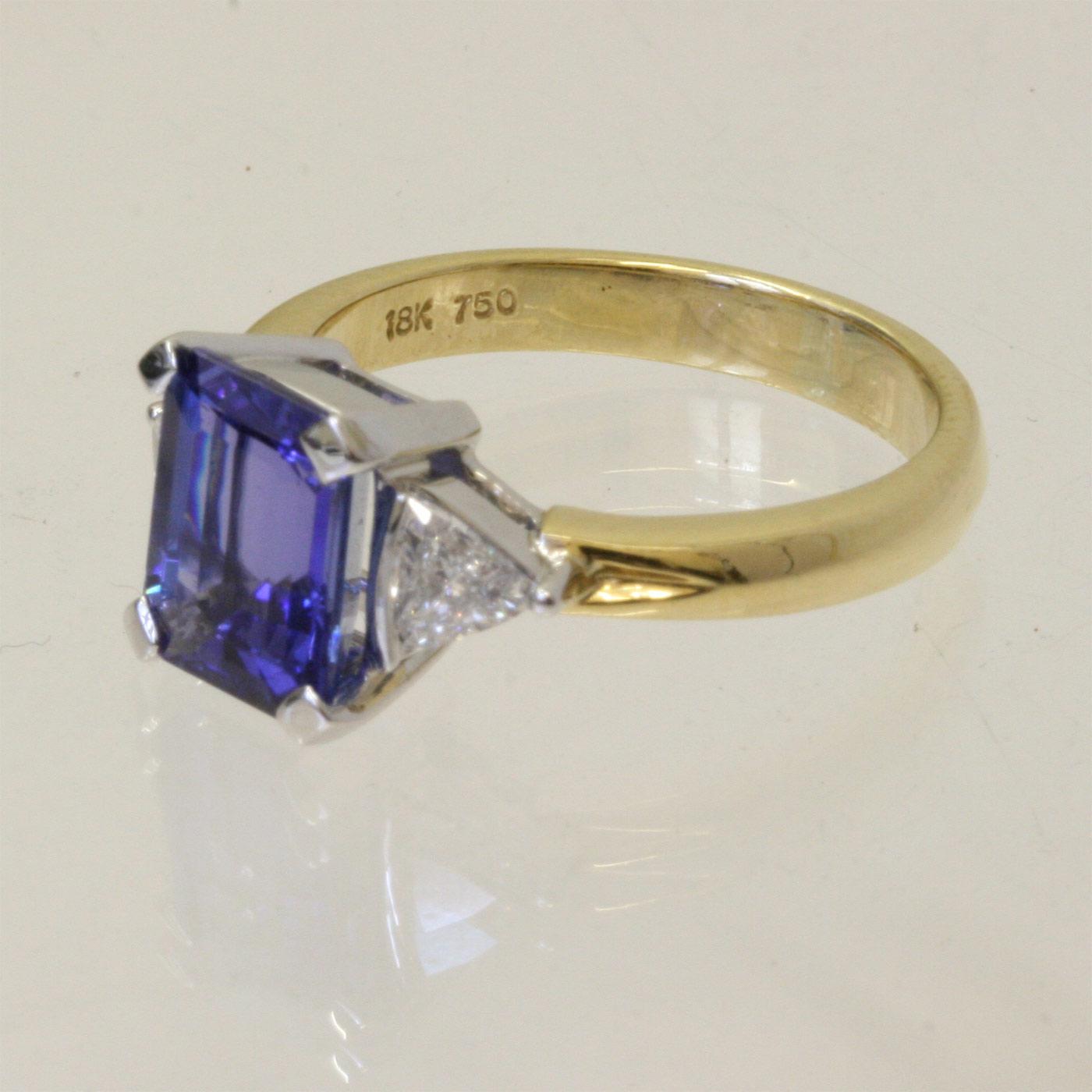 stunning tanzanite and diamond ring tanzanite wedding rings Stunning tanzanite and diamond ring