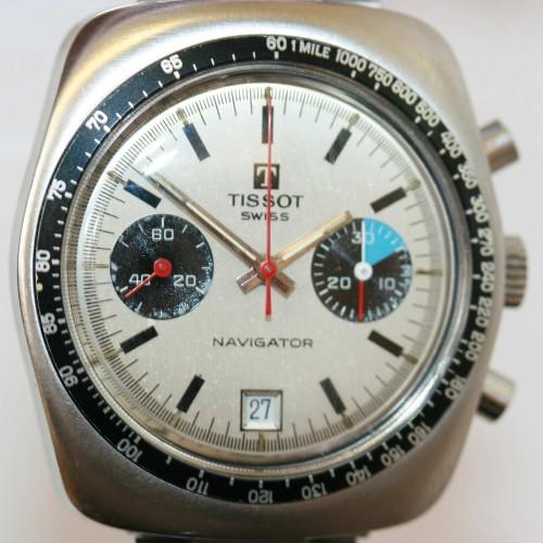 Tissot Navigator watch.