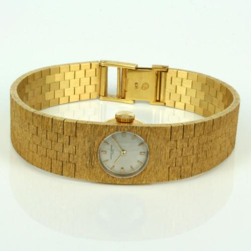 18ct gold Vacheron Constantin watch .