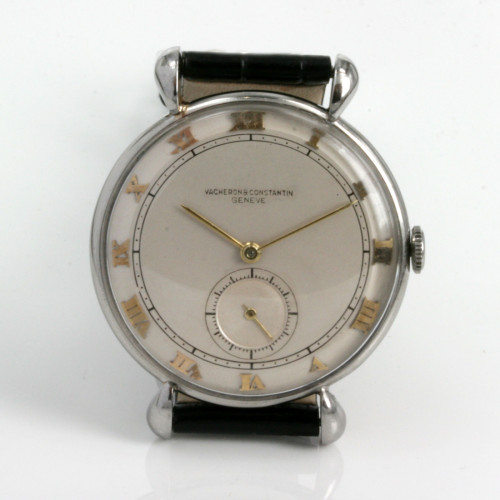 Vintage Vacheron & Constantin watch with flared lugs