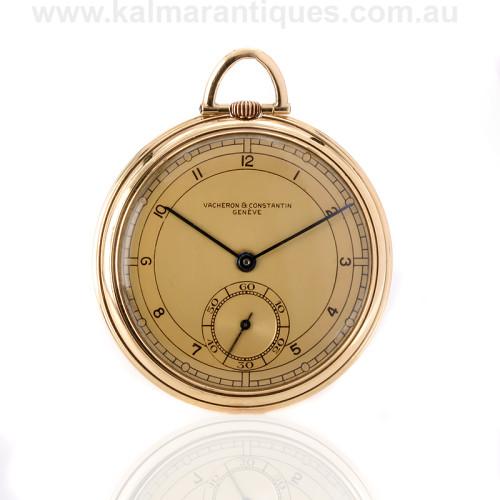 18ct Vacheron and Constantin pocket watch