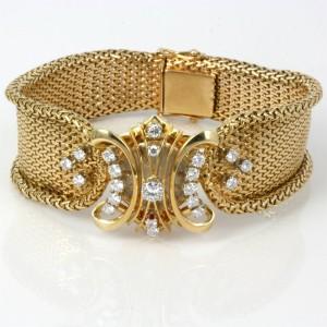 Vacheron Constantin diamond set flip-top watch.