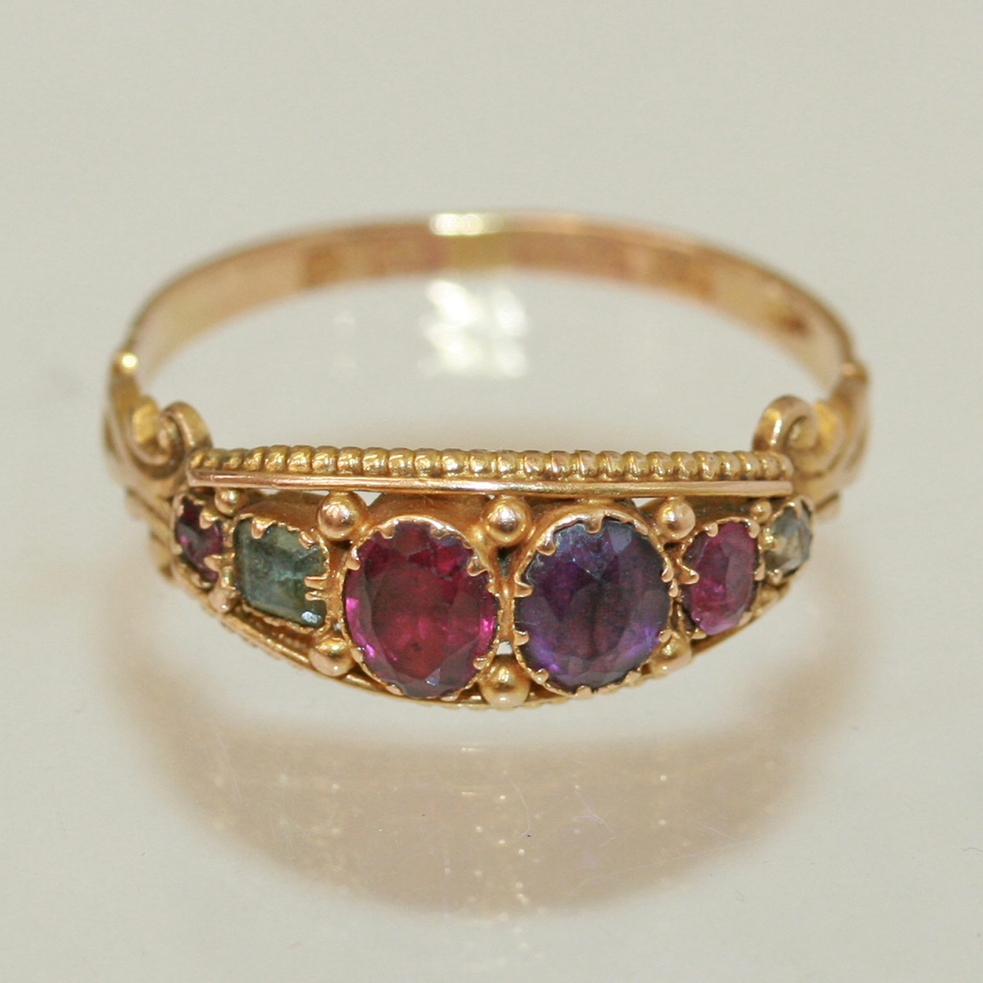 Antique Regard Rings