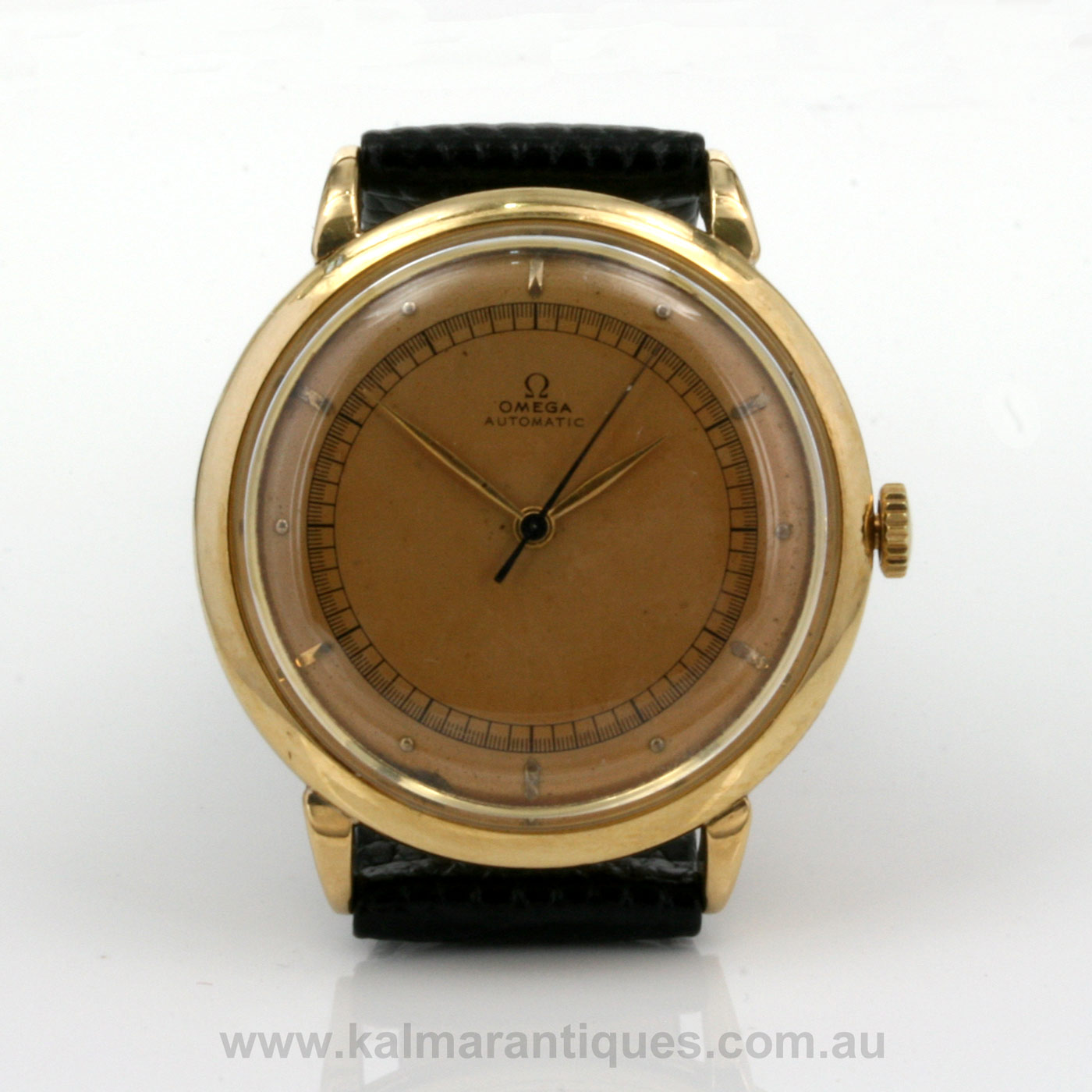 Buy 18ct vintage omega watch from 1944 sold items sold omega watches sydney kalmarantiques for Omega watch vintage