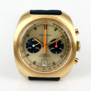 Vintage Wakmann chronograph watch.