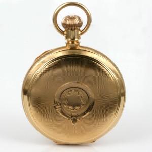 18ct antique Waltham Riverside pocket watch.
