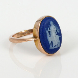 Wedgwood cameo ring from the 1930's.