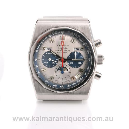 Zenith Espada chronograph watch 01.0040.418