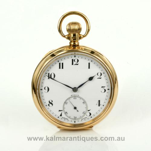 Antique zenith pocket watch